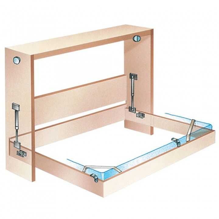 a build plan s murphy rocklers for full hardware folding bed rockler and woodworking to side queen how mount